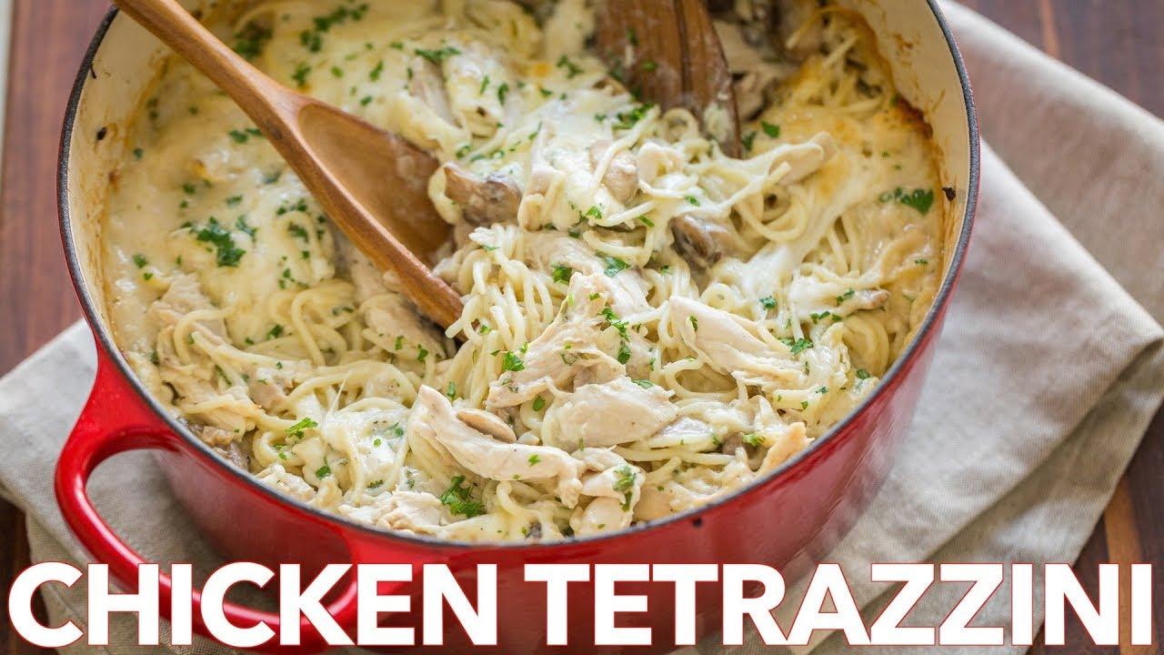 Easy Chicken Tetrazzini Casserole Recipe - Comfort Food for Dinner