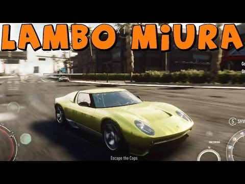 Need For Speed Rivals | Lamborghini Miura Concept | Lamborghini Concepts DLC Gameplay HD