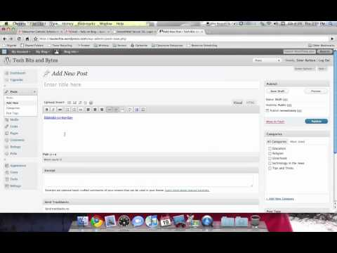 Embedding a Document in your Blog
