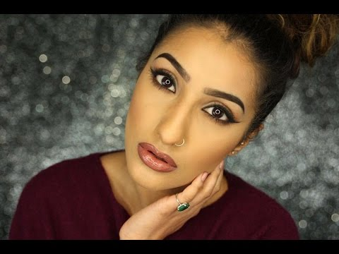 Back To Basics: How To Make Your Lips Look Bigger/Fake Big Lips/Kylie Jenner Lips | AnchalMUA