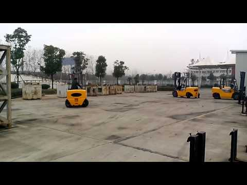 Forklift Turning Radius