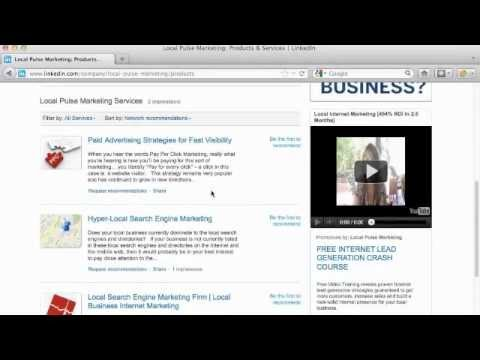 LinkedIn Company Page Tutorial: Setup Service & Product Pages on LinkedIn