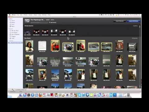 iPhone Tutorial | TRANSFER PICS FROM iPHONE TO COMPUTER (MAC USERS)