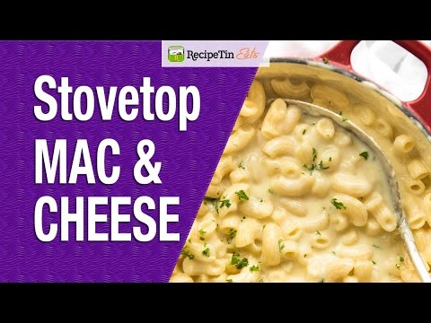 ONE POT Stovetop Macaroni and Cheese