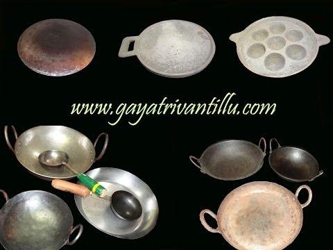 Seasoning of Cast Iron Griddle - Indian Andhra Telugu Recipes