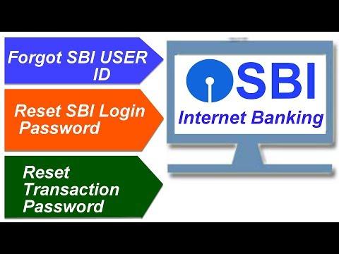 How to Reset SBI Netbanking Password Using ATM - Login + Transaction