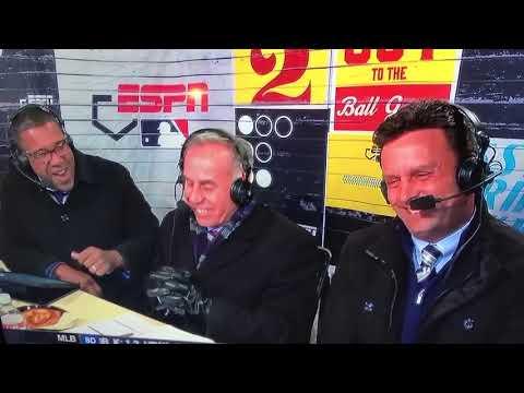 Hilarious Prank on ESPN's Tim Kurkjian Missing Glove During Brewers Cardinals Game