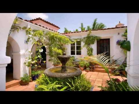 Spanish Style House Fence