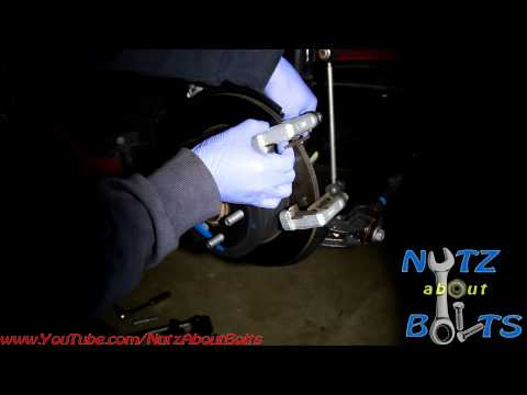 2012-2014 Toyota Camry Rear brakes remove and install