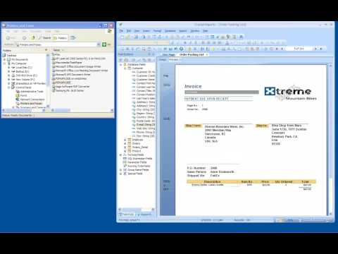 How to Burst and E-mail Crystal Reports