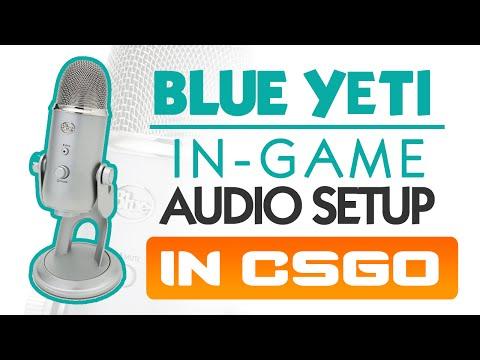 Blue Yeti In-game Audio Setup In CS:GO