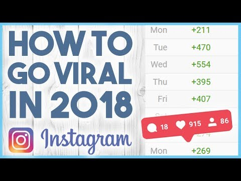 😱 HOW TO GO VIRAL ON INSTAGRAM & REACH THE EXPLORE PAGE 2018 😱