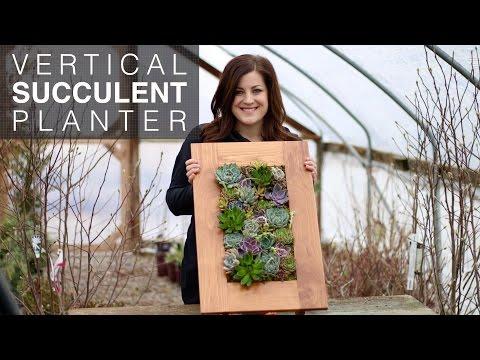 Vertical Succulent Planter (Full Version)