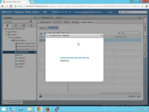 Renaming a Virtual Machine and Virtual Machine Files in vSphere 6