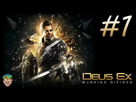 Deus Ex Mankind Divided Gameplay Walkthrough Part 1 Intro & Prologue (PC Let's Play)