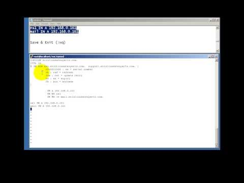 Zimbra mail server installation steps - part 1/2