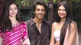 Download Ananya Pandey,Alanna Pandey And Ahaan Pandey Slaying In Tradional Avatar Video