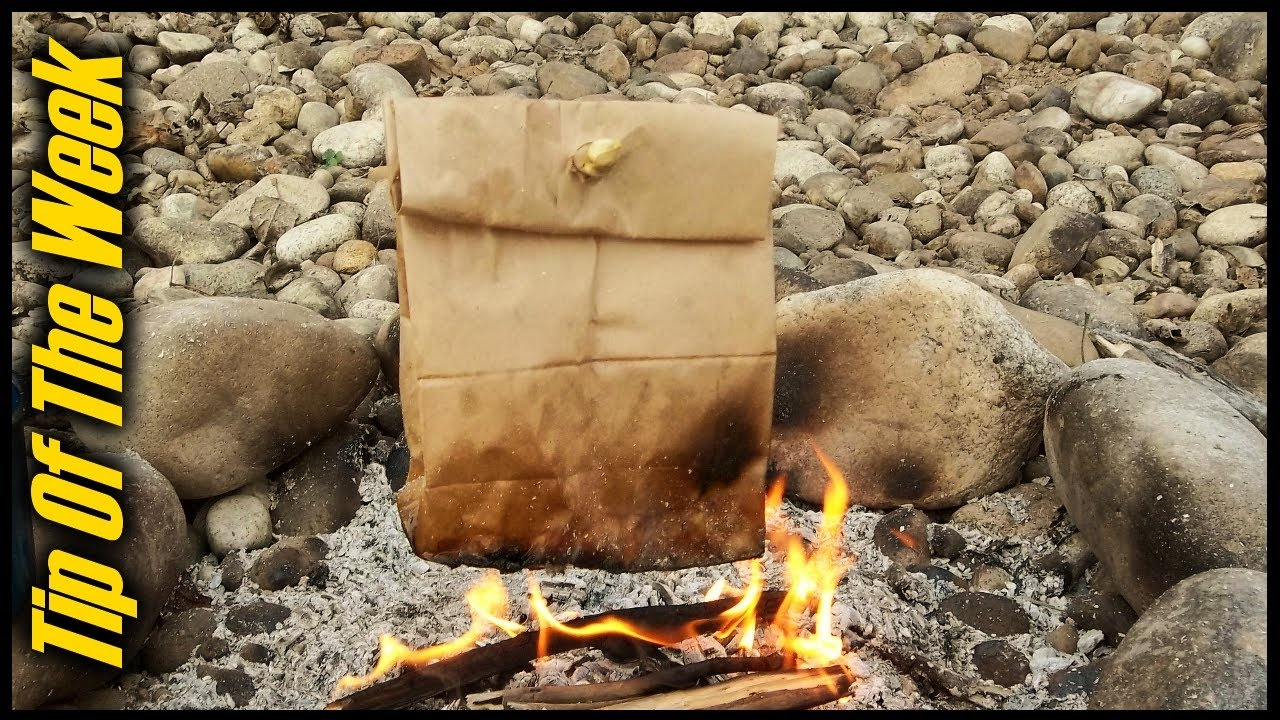 """Cooking Bacon & Eggs In A Paper Bag - """"Tip Of The Week"""" E34"""