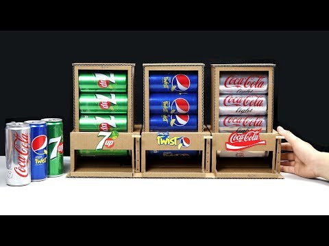 How to Make 3 Different Drinks Vending Machine