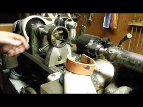 South Bend 9 Inch Metal Lathe ~ Steady Rest ~ by Old Sneelock's Workshop