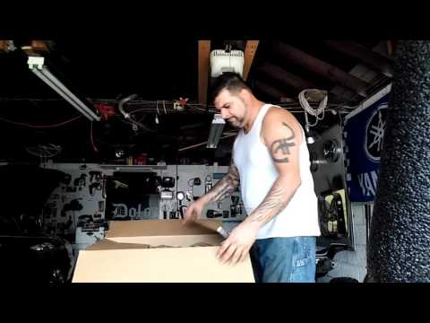DRIFT TRIKE SEAT UNBOXING