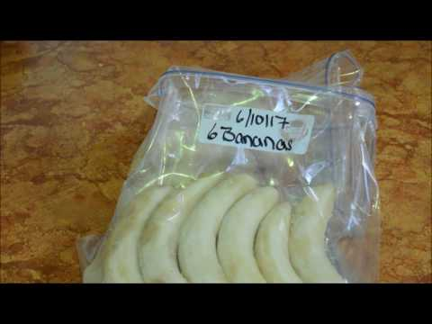 How to preserve bananas for future use