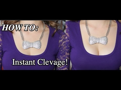 How To Get More Cleavage Instantly (Tip Thursday)
