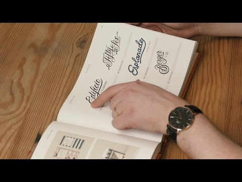 ✏️  How To Design A Hand Lettered Vintage Logo | Start To Finish