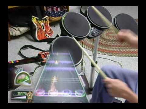 Guitar Hero Metallica - Frantic Drums FC 100% Expert
