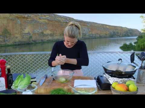 Hot Smoked Salmon Salad - Justine Schofield - Celebrity Cruise - Murray Princess