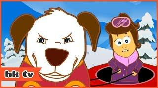 Adventures of Annie & Ben: Snow Yeti Winter Adventure | Christmas Cartoon | HooplaKidz TV