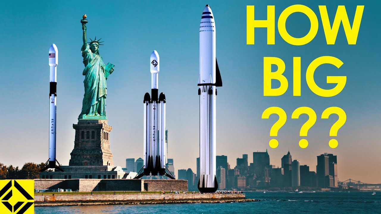 VFX Artist Reveals How Big SpaceX Rockets Really Are!