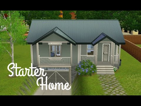 Sims 3 House Build - Dove's Rest (Starter Home)