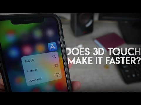 Is 3D Touch Useful - Speed Test