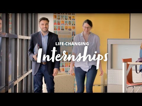 Life-Changing Internships for Nazareth College students