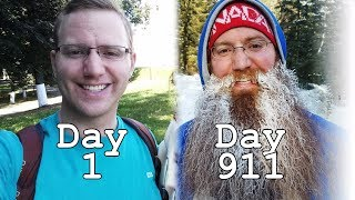 Download 911 DAYS OF BEARD GROWTH TIME LAPSE - ROUND THE WORLD TRIP Video