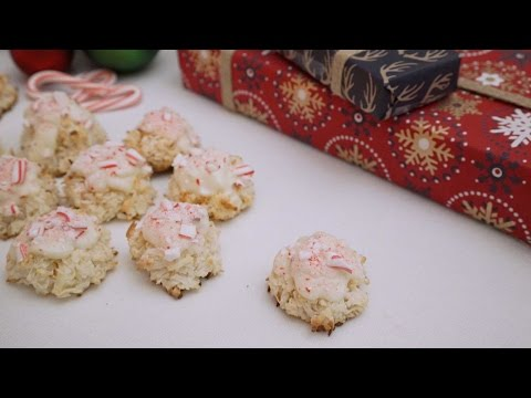 White Chocolate Peppermint Macaroons