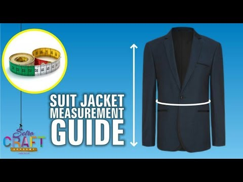 DIY: How To Measure For A Suit Jacket Or Blaizer