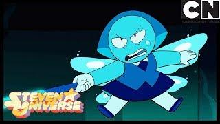 Steven Universe | Topaz Tries To Hurt Aquamarine | Stuck Together | Cartoon Network