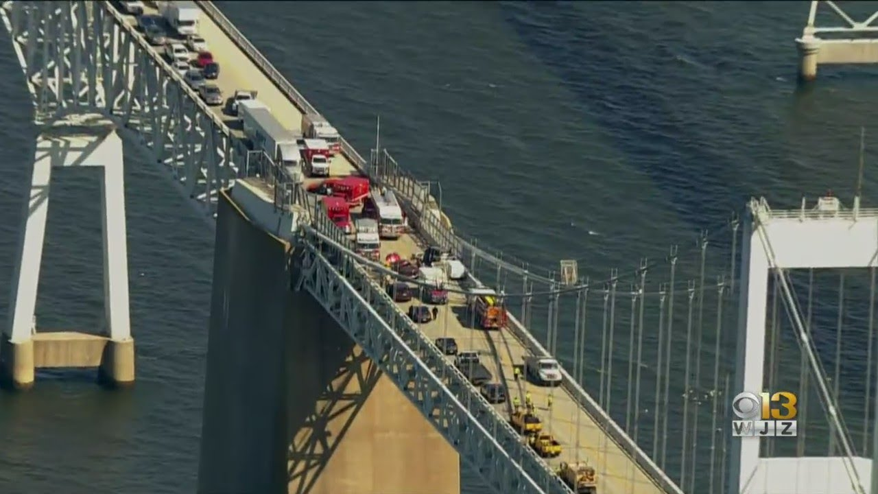 Officials Investigating After Serious Crash On The Bay Bridge Tuesday Afternoon