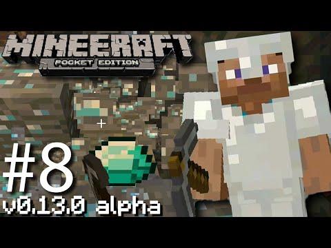 Minecraft: Pocket Edition 13.0 Update - How to Break Diamond Blocks Really - #8 [Android]
