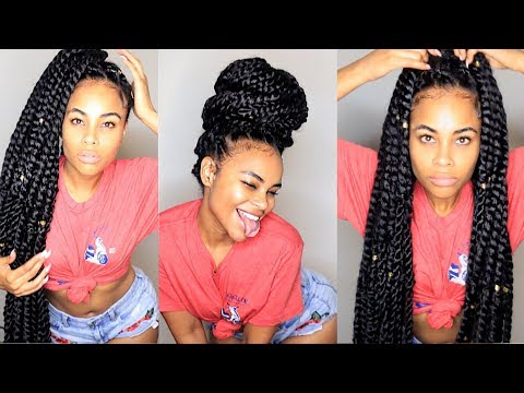 6 Hairstyles | Watch Me SLAY these Knee Length CROCHET Braid Twists!