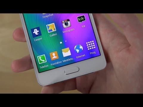 Samsung Galaxy A5 Home Button Warning! (4K)