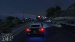 Grand Theft Auto V armored car fun