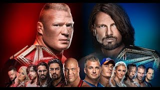 WWE Survivor Series 2017 *PREDICTIONS* · Match Card and Results