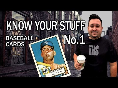 Know Your Stuff Baseball Cards for Resale on Ebay Amazon Etsy and more!