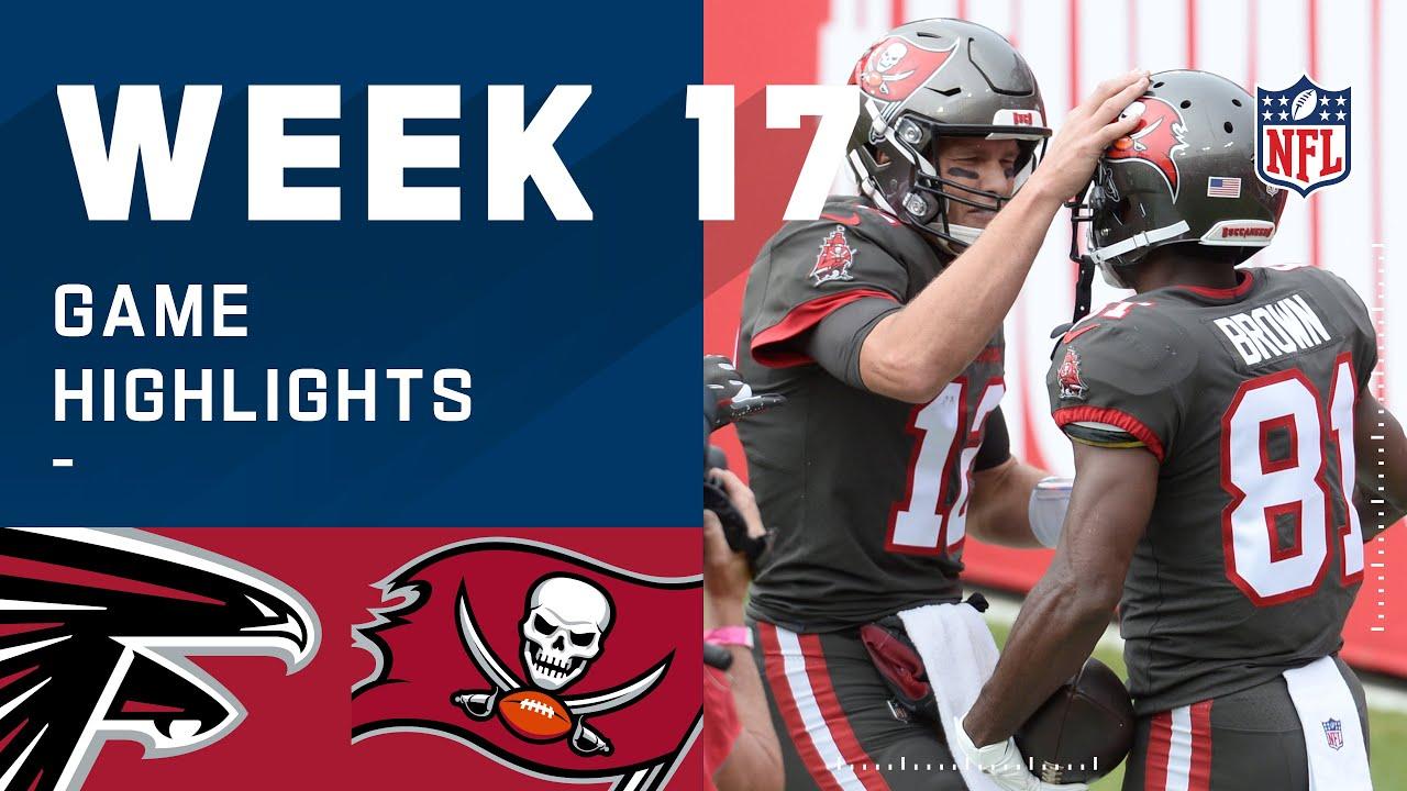 Falcons vs. Buccaneers Week 17 Highlights   NFL 2020