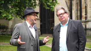 Mike Graham & George Galloway at Westminster: the Lords