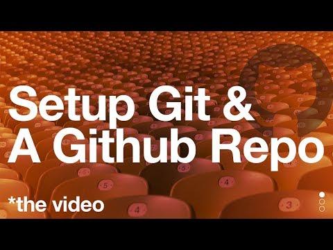 Setup Git & a Github Repo
