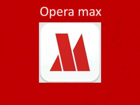 OPERA MAX-SAVE YOUR MOBILE DATA BY 50% using OPERA MAX.